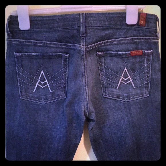 7 For All Mankind Denim - 7 For All Mankind 'A' pocket Jeans 29x31 EUC